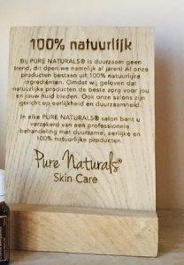 Pure Naturals® Licentie