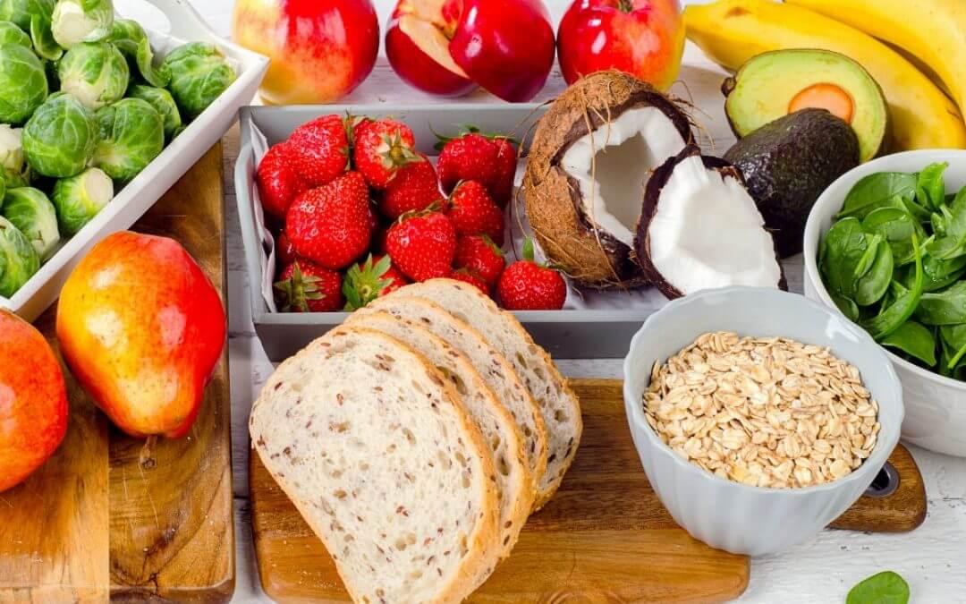 Gevarieerd eten om gezond te blijven