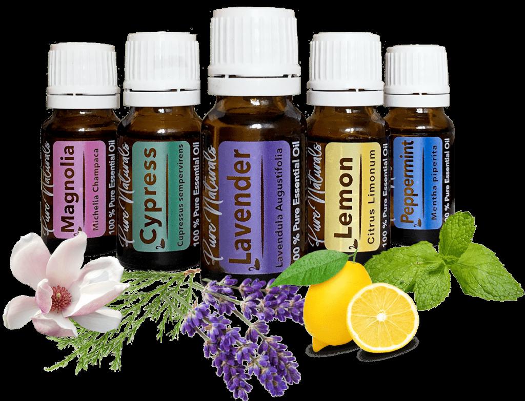 aromatherapie pure naturals essentiële olie